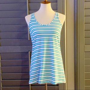 🍋Lululemon CRB Twin Stripe Spry Blue NWOT Size 12
